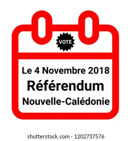 New Caledonian independence referendum, 2018 in french
