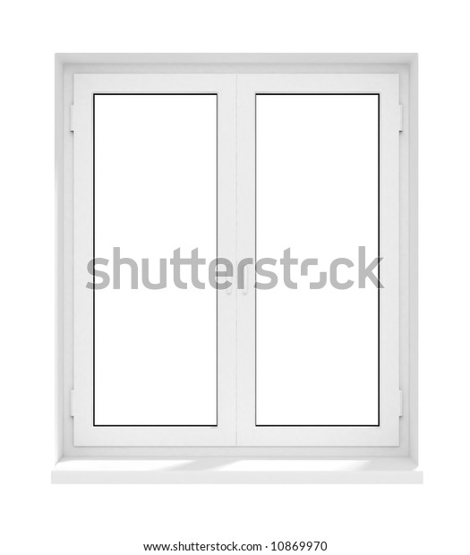 New Closed Plastic Glass Window Frame Stock Image Download Now