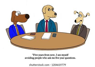 New hire dislikes projecting future plans