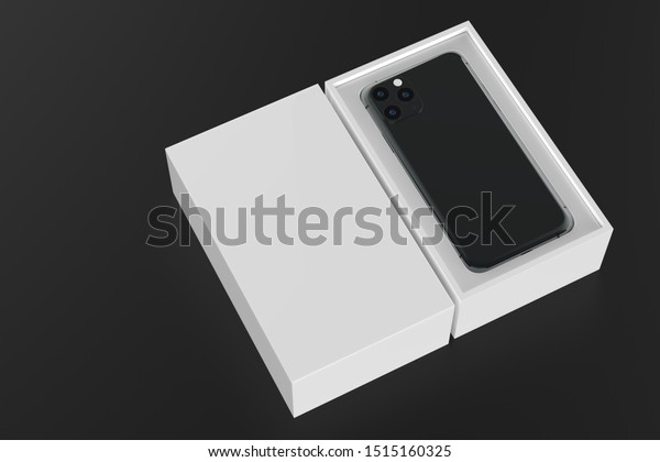 New Iphone 11 Pro Max Smartphone Stock Illustration 1515160325