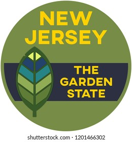 new jersey: the garden state | digital badge