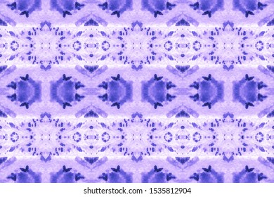 New Year Azure, Indigo On Light. Trendy Textured Background. Abstract Moroccan Ethnic Decor. Mix Designs Background. Painting Design. Dip Dye Paper.
