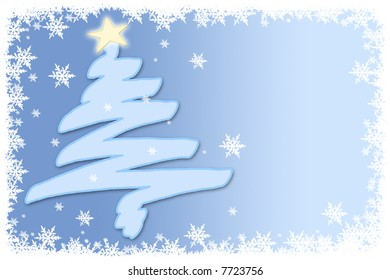 New year and Christmas celebration card