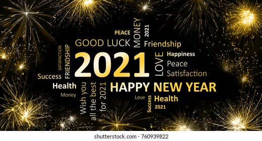 new year greeting card 2021 stock illustration 760939822 new year greeting card 2021 stock