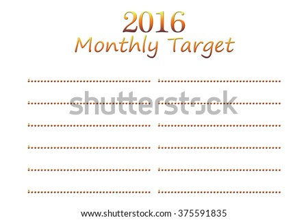 3eb1d478999 New Year Wish List White Background Stock Illustration 375591835 ...