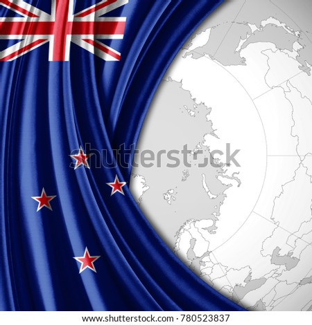 new zealand on the world map