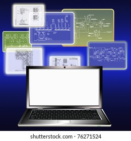 The newest computer maintenance is widely used in building designing