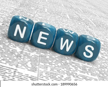 News Dice Meaning Reporting Media And Bulletin