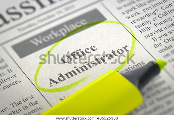 Newspaper Advertisements Classifieds Ads Vacancy Office