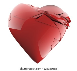 A nice broken heart