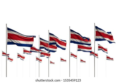 nice feast flag 3d illustration