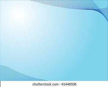 A nice and simple aqua background, great for powerpoint slides.