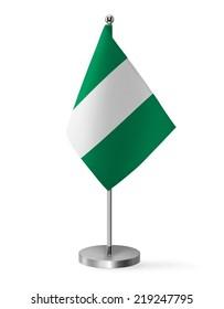 Nigeria flag - table flag