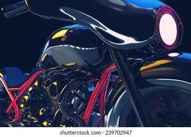 Night Motorcycle