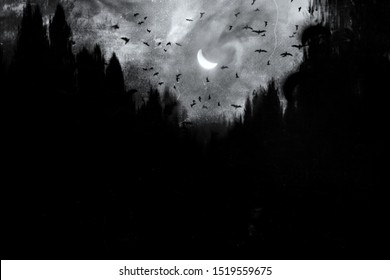 Scary Wallpaper Images Stock Photos Vectors Shutterstock