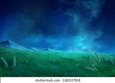 Anime Night High Res Stock Images Shutterstock