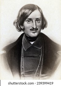 Nikolai Gogol (1809-1852) Russian writer, regarded as the father of realism in Russian literature.