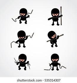 ninja boy cartoon theme