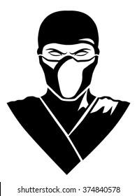 ninja in a mask logo