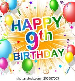 Ninth Birthday Meaning 9 Celebrating And Celebration