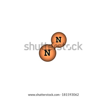 Nitrogen Is The Chemical Element At Room Temperature It Is A Gas Of Diatomic