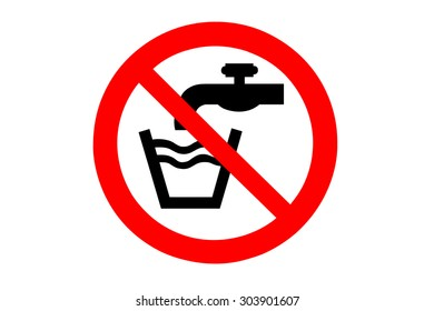 no drinking the water ban
