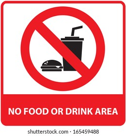 No food or drink area sign.JPG