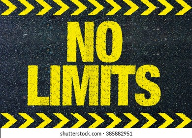 No limits word on road