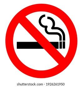 no smoking symbol or sign