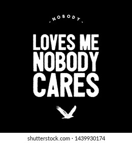 Nobody Loves Me Images, Stock Photos & Vectors | Shutterstock