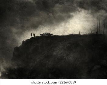 Noir Scene