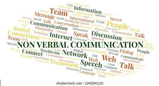 verbal or nonverbal communication