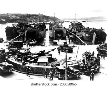 NORMANDY scene near American embarkation part in Plymouth England