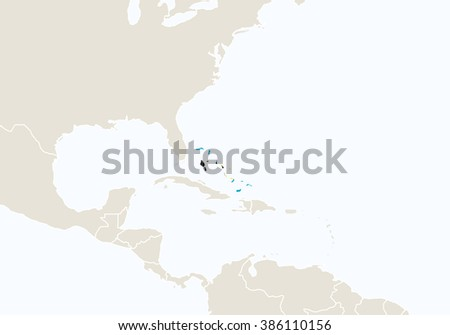 North america highlighted bahamas map raster stock illustration north america highlighted bahamas map raster stock illustration 386110156 shutterstock gumiabroncs Image collections