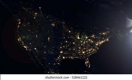 North america night lights world map stock illustration 528461191 north america night lights world map composition elements of this image furnished by nasa gumiabroncs Choice Image
