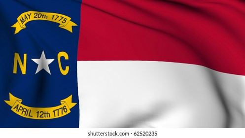 North Carolina flag - USA state flags collection