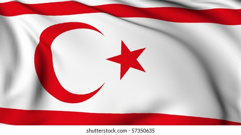 North Cyprus flag World flags Collection