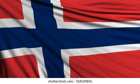 Norway Flag, Norwegian Background