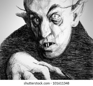 Nosferatu scary Vampire