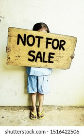 Not For Sale campaign. Human trafficking, Stop child abuse.