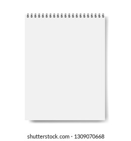 Notebook Mockup Isolated