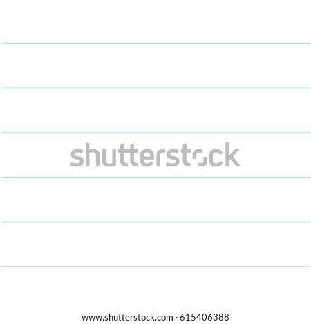 notebook paper texture lined template blank stock illustration