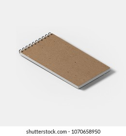 notebook small eco with white background