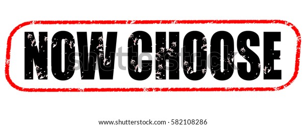 now choose red and black stamp on white background.