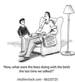 Now what were the bees doing with the birds the last time we talked?