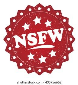 nsfw grunge stamp