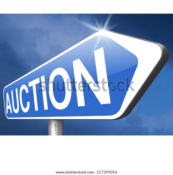 Nternet Auction Icon Bid Buy Online Stock Illustration 217399054