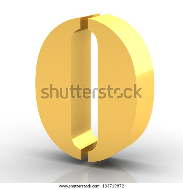 The Number 0 - Gold