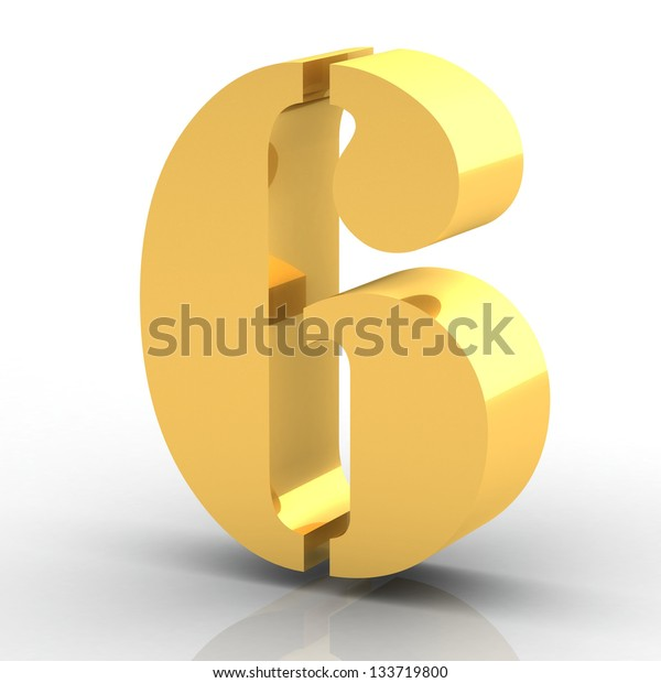 The Number 6- Gold