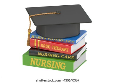 Nursing education concept, 3D rendering isolated on white background
